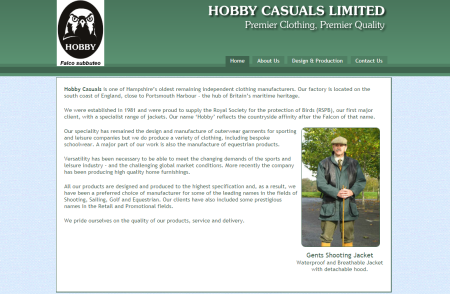Hobby Casuals - Premier Clothing, Premier Quality